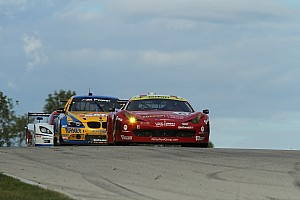 Grand-Am Race report Wilden and Segal with Ferrari 458 Italia finishes fourth after great battles at Road America
