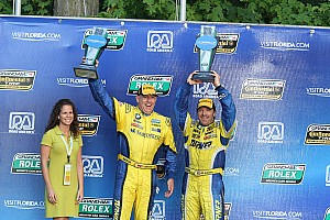 Grand-Am Race report Turner BMWs with impressive first and third finishes in GT at Road America