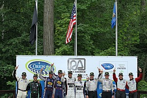 ALMS Race report Flying Lizard completes with podium season 6th Round at Road America