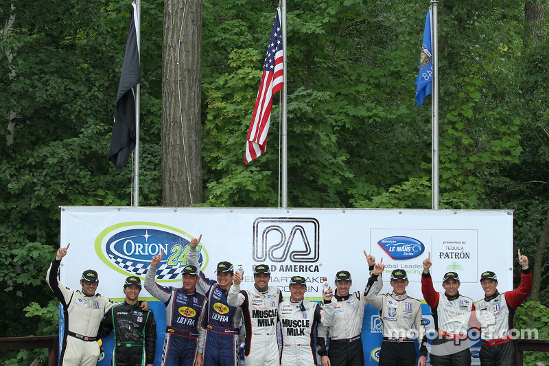 Flying Lizard completes with podium season 6th Round at Road America