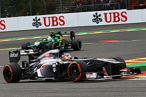 Formula 1 Race report No points for Sauber on Belgian GP