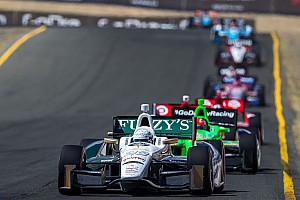 IndyCar Race report Slam, bang affair at Sonoma raceway has Carpenter battling with the leaders