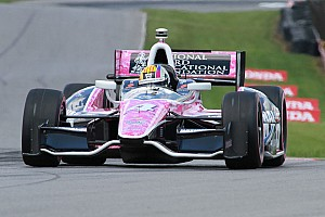 IndyCar Practice report 'Baltimore Oriol' Servia finishes 12th overall during Friday practice