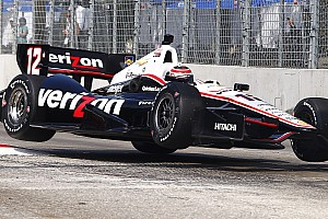IndyCar Qualifying report Power qualifies second to lead Team Penske at Grand Prix of Baltimore