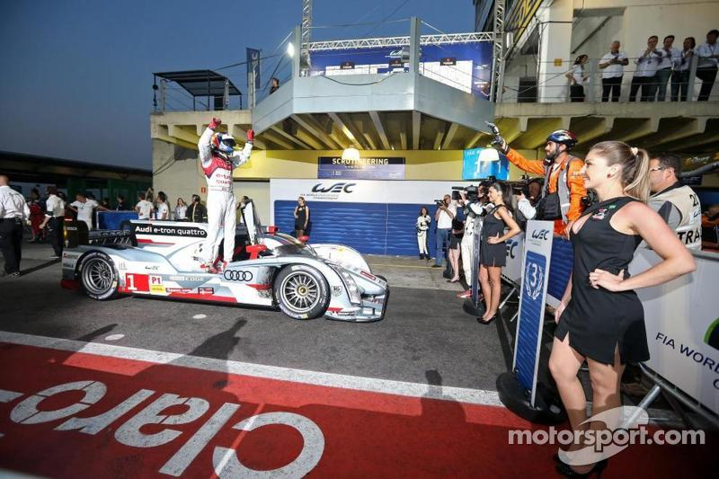 Audi one-two victory at WEC round in Brazil
