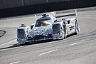 First test drives with the Porsche LMP1 racing car