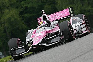 IndyCar Race report Baltimore Oriol Servia storms to front before penalty puts Panther in 12th