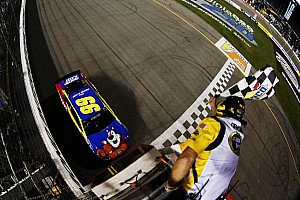 NASCAR Cup Race report Edwards scores at Richmond; Chase field set