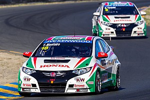 WTCC Qualifying report Honda strategy aims for top podium result at Sonoma