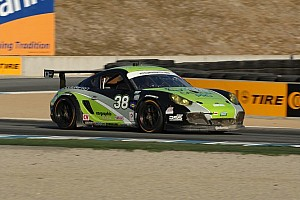 Grand-Am Race report Pumpelly holds off Auberlen in Mazda Raceway thriller