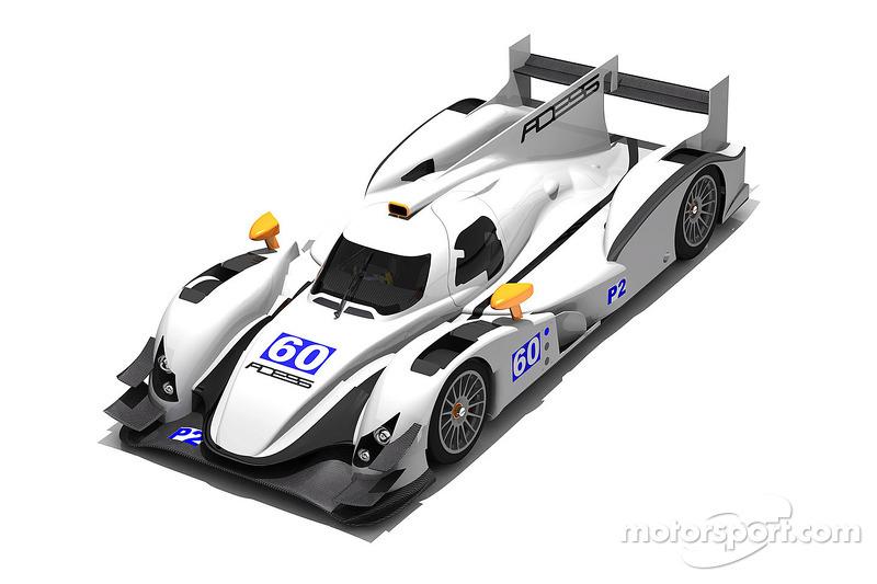 ADESS-AG reveals new customer LMP2 car