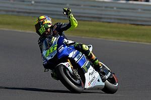 MotoGP Practice report Strong start in Misano for local hero Rossi