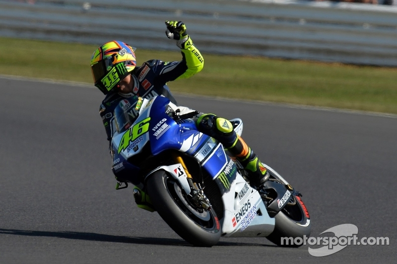 Strong start in Misano for local hero Rossi