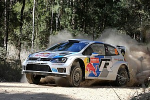 WRC Leg report Six of the best for Ogier on Saturday in Rally Australia