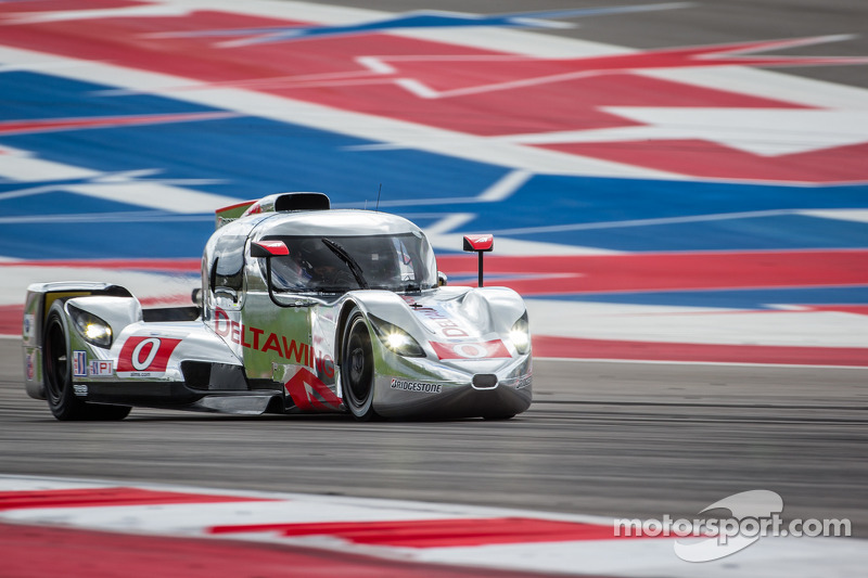 The DeltaWing coupe shows speed and performance in its race debut in Austin