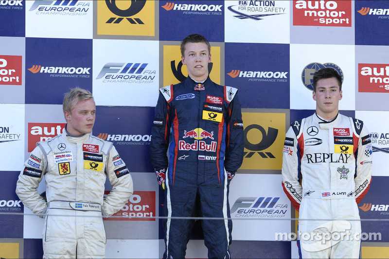Felix Rosenqvist wins twice to set up title showdown at Zandvoort