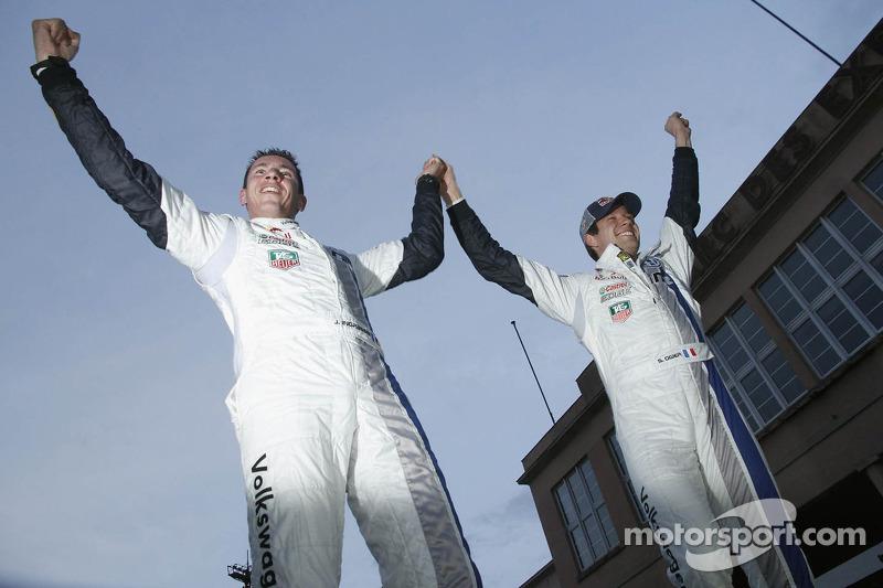 Ogier celebrates title