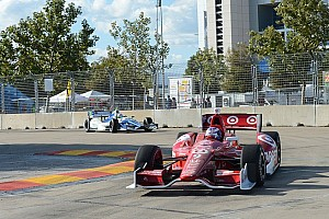 IndyCar Race report Dixon closes points gap with win on Saturday in Houston