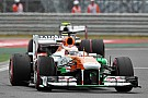Unlucky race for Di Resta and Sutil at Korea