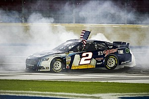 NASCAR Cup Race report Keselowski breaks into win column at Charlotte