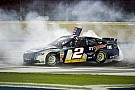 Keselowski breaks into win column at Charlotte