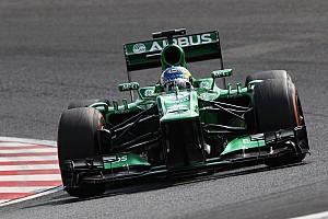 Formula 1 Race report Caterham drivers after race at Suzuka