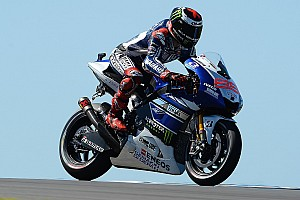 MotoGP Qualifying report Lorenzo lands new lap record to claim pole position at Phillip Island