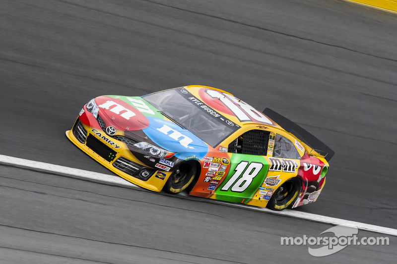 Talladega 'treats' Busch to 5th place finish