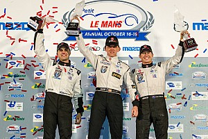 ALMS Race report Tucker claims fourth ALMS Championship with Petit Le Mans win