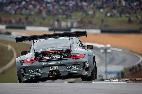 ALMS Team Falken Tire Porsche 911 GT3 RSR scores GT win at final ALMS Petit Le Mans