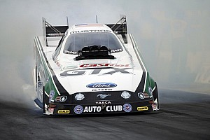NHRA Race report John Force, Matt Smith earn race victories and championships in Las Vegas