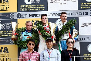 F3 Race report Victory for Lynn and Prema at Macau