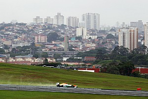 Formula 1 Practice report Limited practice mileage for Sahara Force India at Interlagos