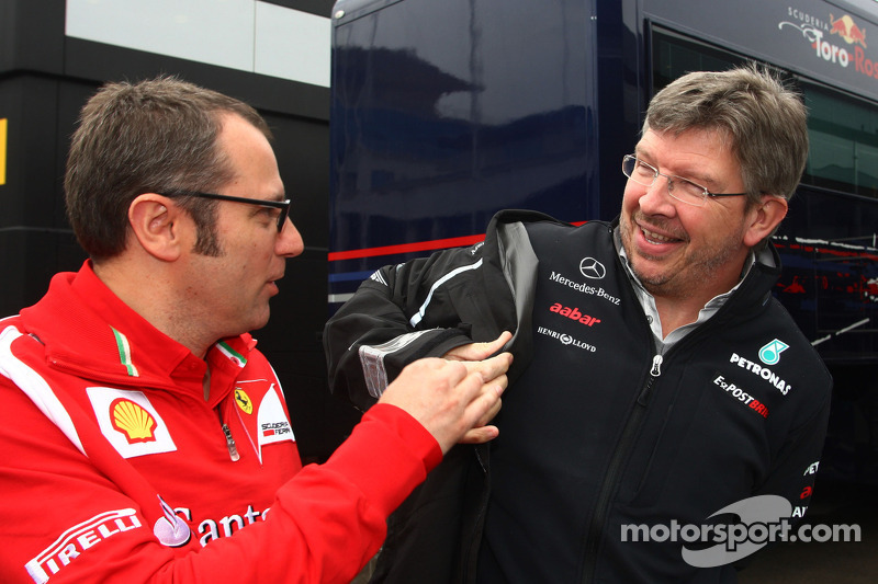 Brawn linked with Ferrari return