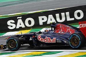 Formula 1 Race report Toro Rosso end the year with a point at Interlagos