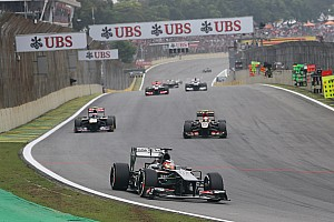 Formula 1 Race report Sauber has a consolidating end to the season in São Paulo