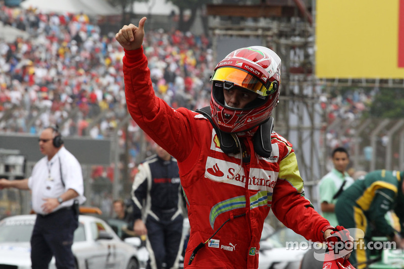 Massa bids Ferrari farewell
