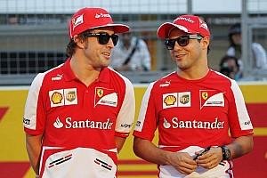 Formula 1 Analysis Alonso tips Ferrari to 'miss' Massa's input