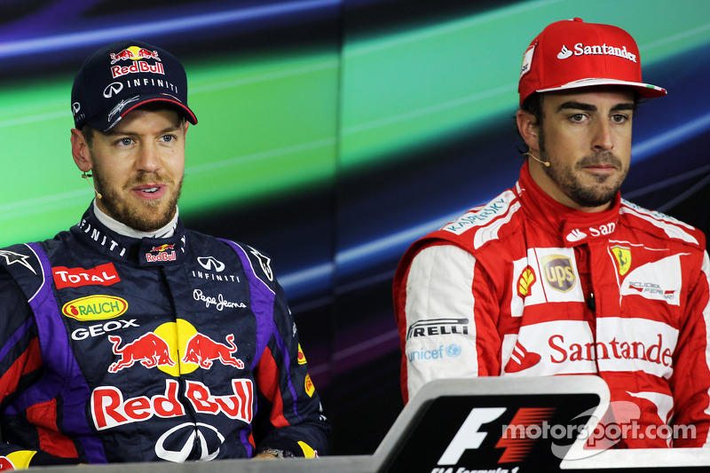 Only normal car will prove 'legend' status for Vettel - Alonso