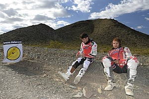 Dakar Stage report Barreda holds overall lead after day 4