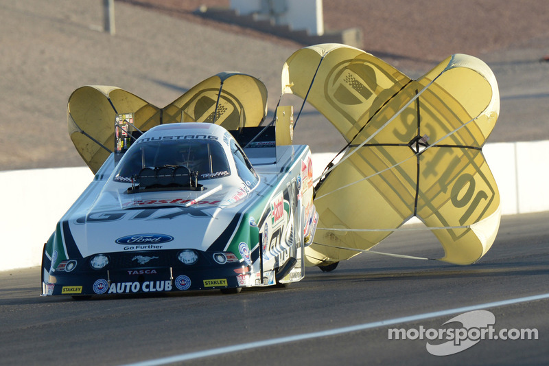 John Force and his team are headed to Palm Beach International Raceway