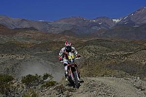 Dakar Stage report Barreda makes amends