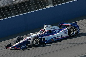 IndyCar Breaking news Teams put Chevrolet 2014 IndyCar V6 engine through its paces at first manufacturer test
