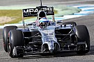 McLaren Mercedes, Jerez test day 2
