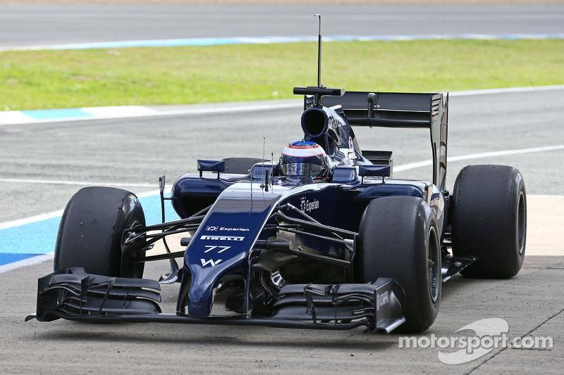 Valtteri Bottas showed 3rd best time in 2nd day of tests in Jerez