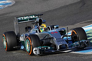 Formula 1 Testing report Transmission problems require Hamilton to finish the test at Jerez earlier