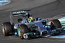 Transmission problems require Hamilton to finish the test at Jerez earlier