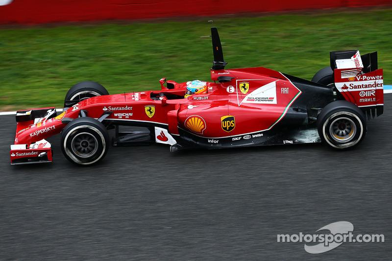 Ferrari: Over 1000km in Jerez