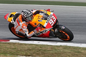 MotoGP Breaking news Marquez breaks the two-minute mark on second day of testing