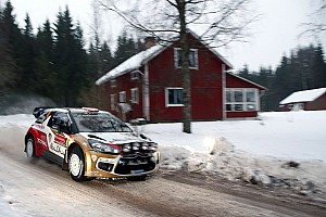 WRC Leg report Mads Østberg on course for podium spot on day 2 at Rally Sweden